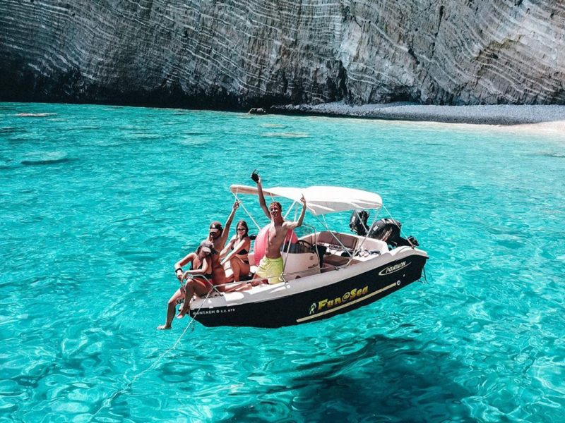 Zante-speedboat-hire