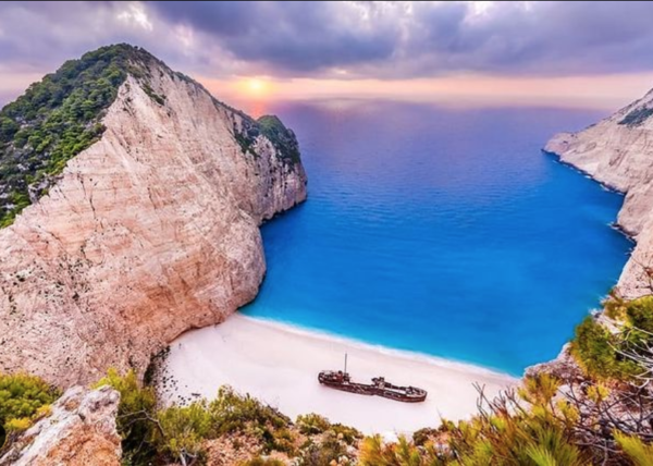 book shipwreck beach zante